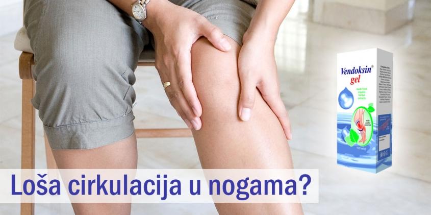 Loša cirkulacija u nogama