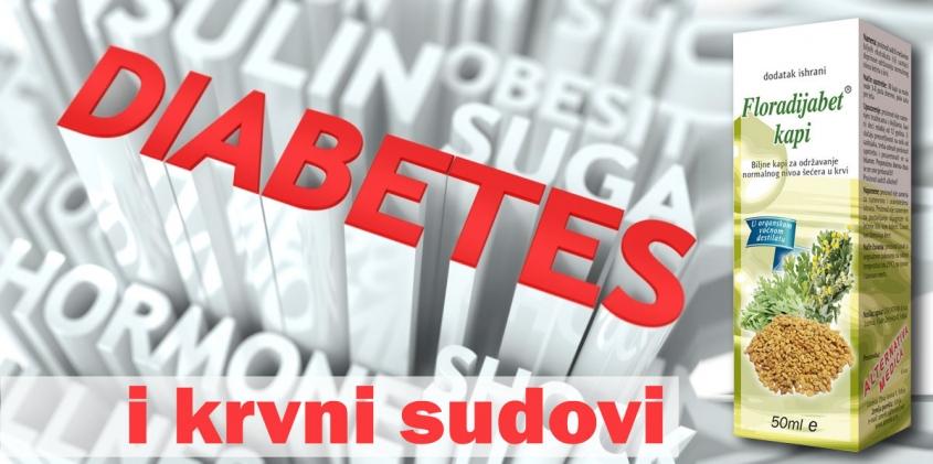 dijabetes i krvni sudovi