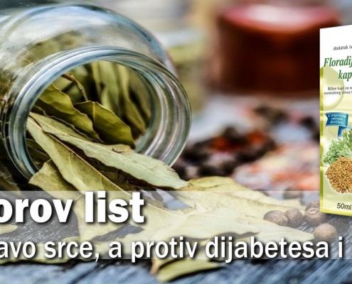 Lovorov list - za zdravo srce, a protiv dijabetesa i stresa