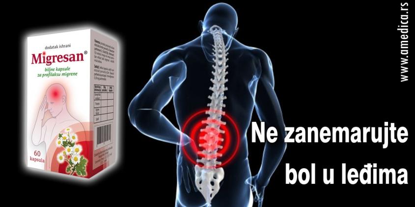 Ne zanemarujte bol u leđima