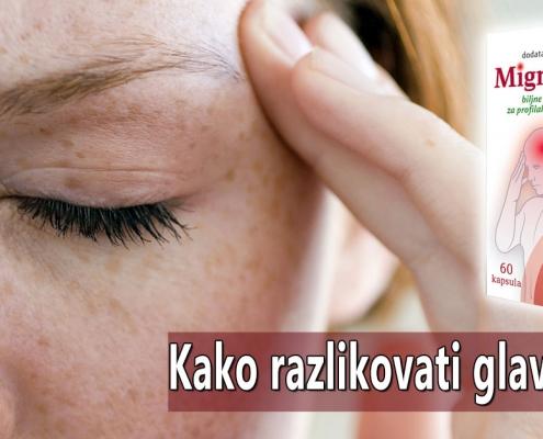 Kako razlikovati glavobolje