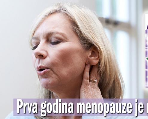 Prva godina menopauze je najgora