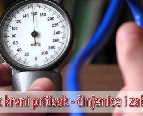 Visok krvni pritisak - činjenice i zablude