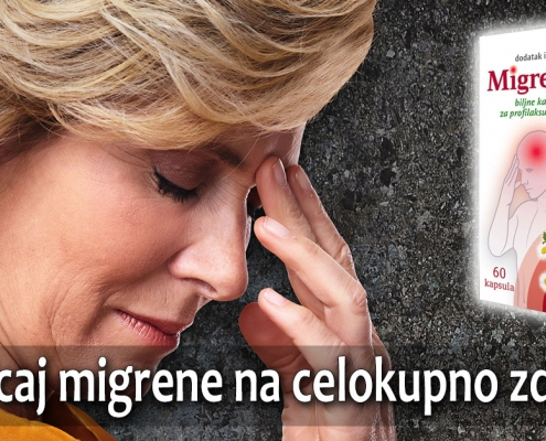 Uticaj migrene na celokupno zdravlje