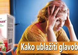 Kako ublažiti glavobolju
