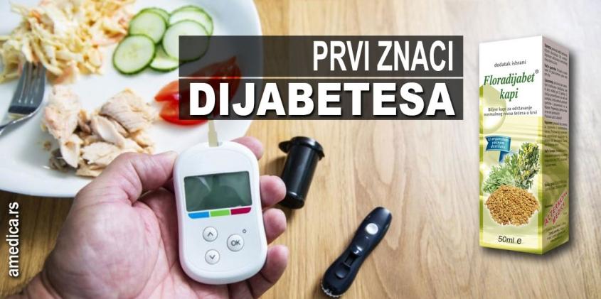 Prvi znaci dijabetesa