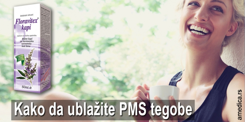 Kako da ublažite PMS tegobe