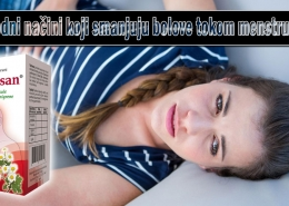 Prirodni načini koji smanjuju bolove tokom menstruacije