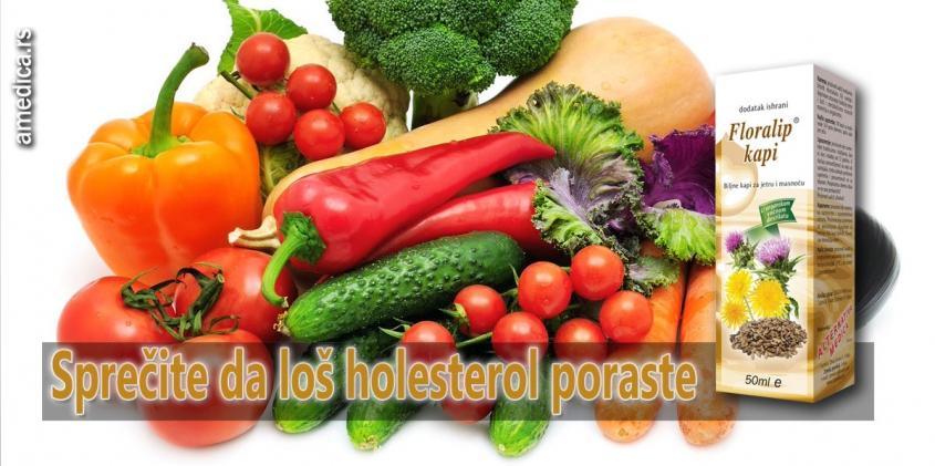 Sprečite da loš holesterol poraste