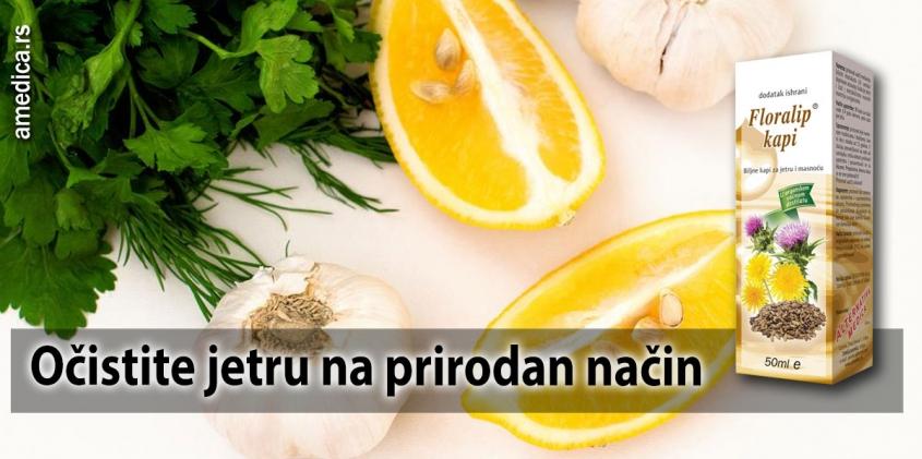 Očistite jetru na prirodan način