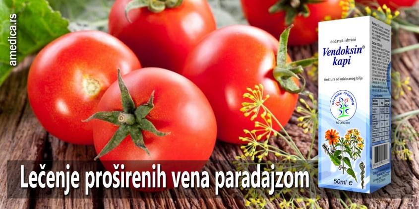 Lečenje proširenih vena paradajzom