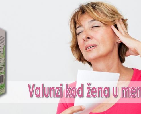 Valunzi kod žena u menopauzi