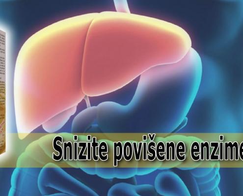 Snizite povišene enzime jetre