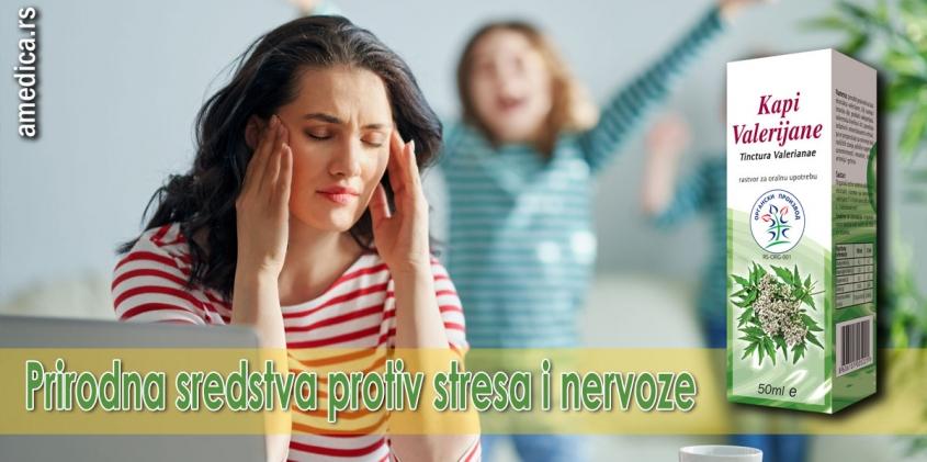 Prirodna sredstva protiv stresa i nervoze