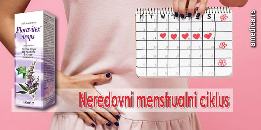 Neredovni menstrualni ciklus