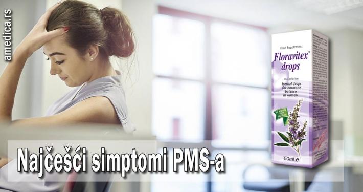 Najčešći simptomi PMS-a
