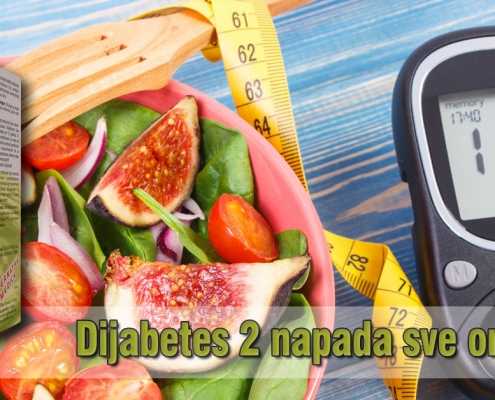 Dijabetes 2 napada sve organe