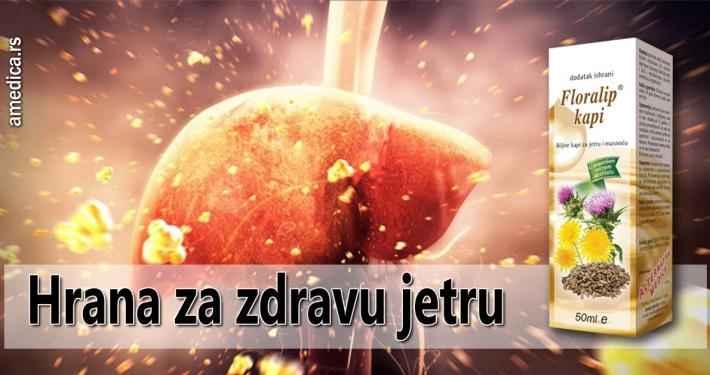 Hrana za zdravu jetru