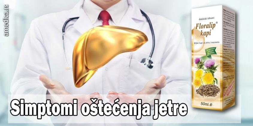 oštećenja jetre