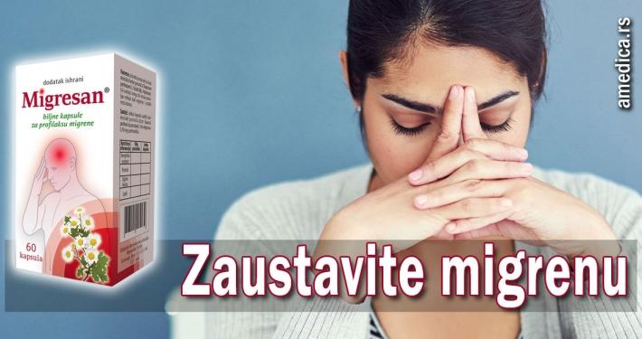 Zaustavite migrenu