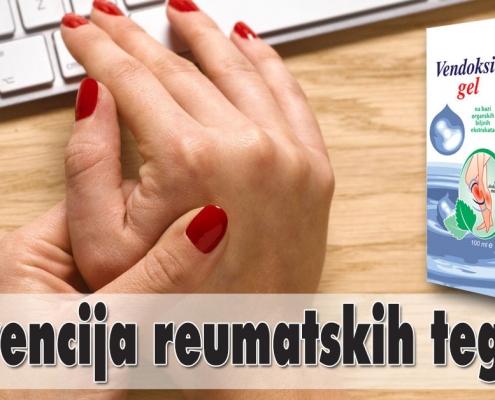 Prevencija reumatskih tegoba